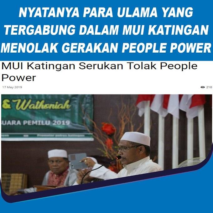 Ajakan People Power Hanya Emosi Sesaat, MUI Jateng: Jangan Diikuti