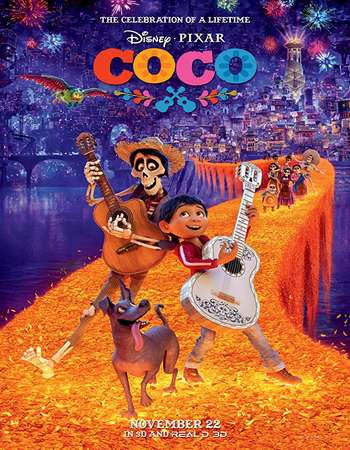 Coco 2017 Hindi Dual Audio BRRip Full Movie Download