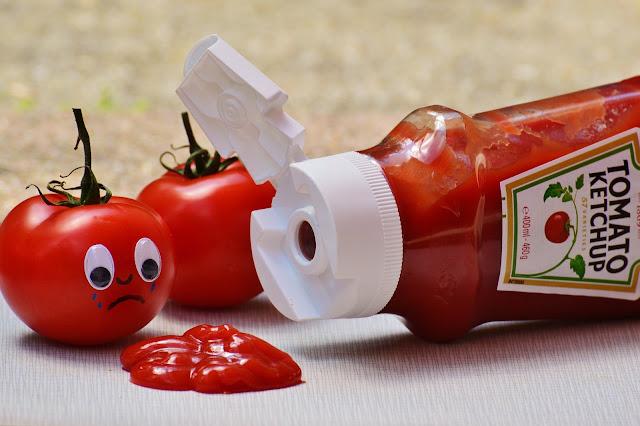خطوات تحضير الكاتشاب ( ketchup )