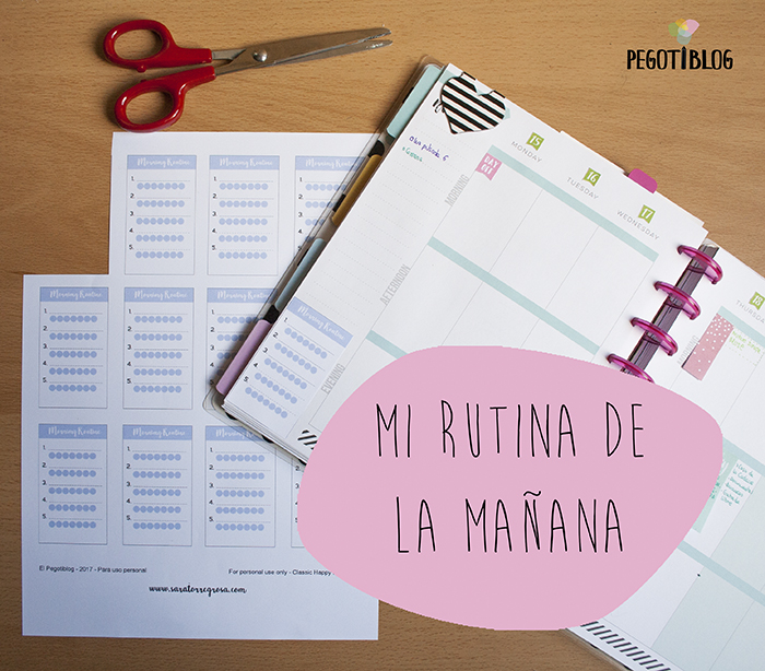Tracker de rutinas - morning routine tracker