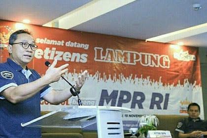 Netizen Lampung Ngobrol Bareng MPR RI - Sosialisasi 4 Pilar MPR RI
