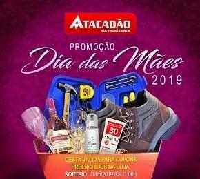 Promoção Atacadão da Indústria Dia das Mães 2019 - Cesta Produtos