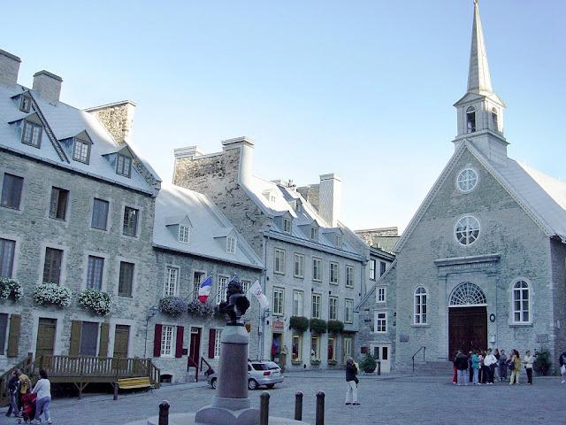 Basílica Notre-Dame-des-Victoires em Quebec