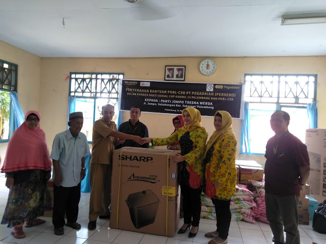 IIKP Pegadaian Kanwil III Palembang Berikan Bantuan CSR ke Panti