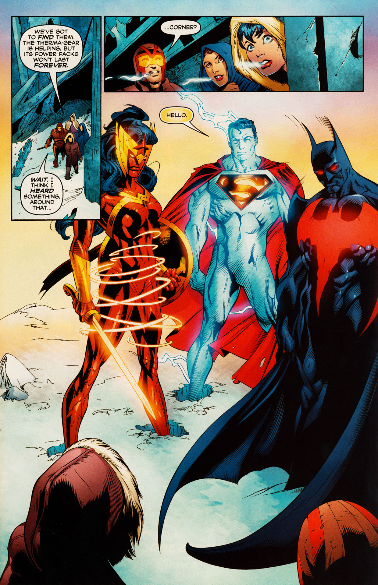 Read online Trinity (2008) comic -  Issue #51 - 22