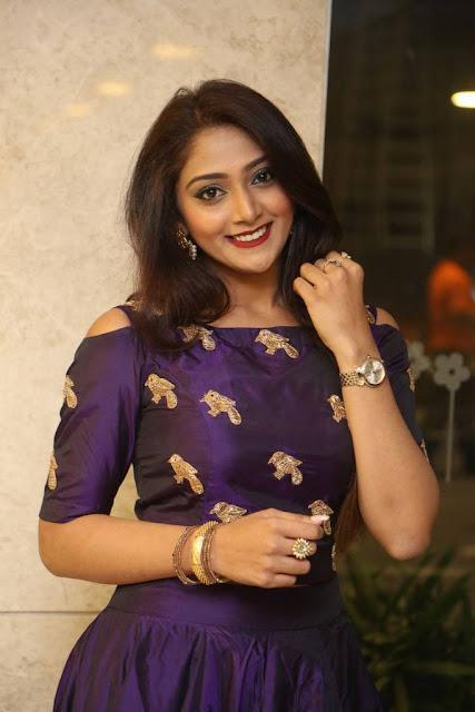Natasha Doshi Stills At Jai Simha Movie Pre Release Event