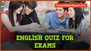 English Quiz for IBPS PO & Clerk 2016