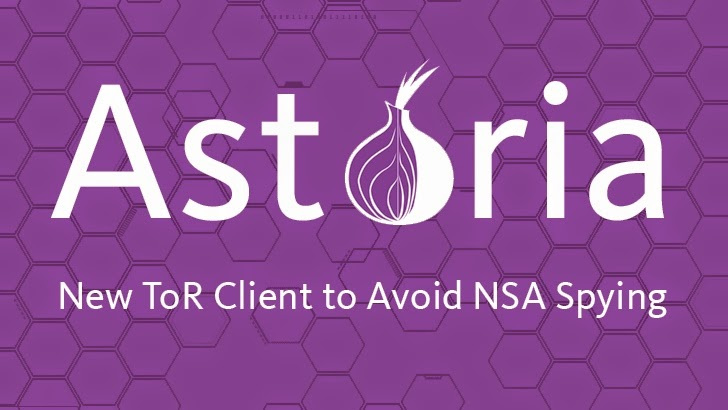 Astoria — Advanced Tor Client Designed to Avoid NSA Attacks