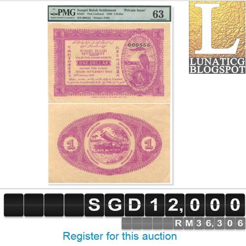 1 Dollar Sungei Buloh