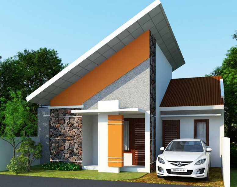gambar rumah modis update: Contoh Desain Rumah Bergaya Eropa