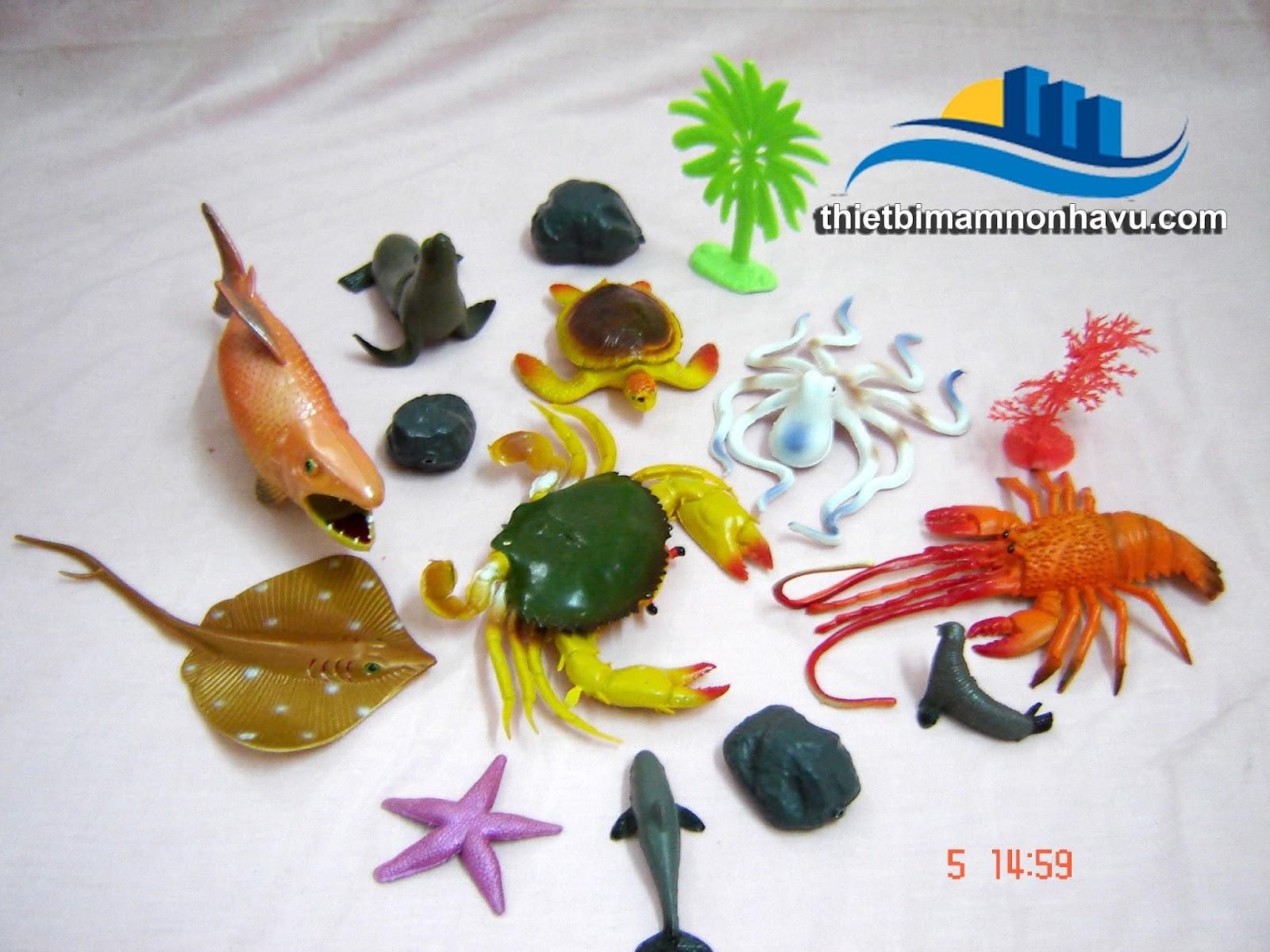Đồ chơi trong lớp động vật biển
