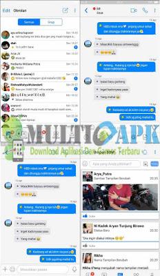 BBM Mod B-IOS Terbaru v3.3.6.51 Apk Android