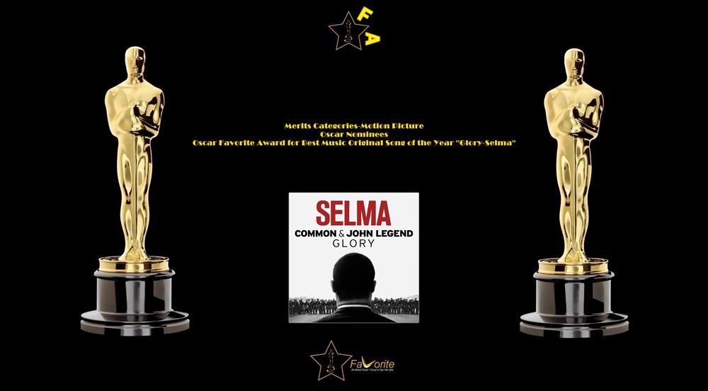 oscar favorite best music original song award glory selma