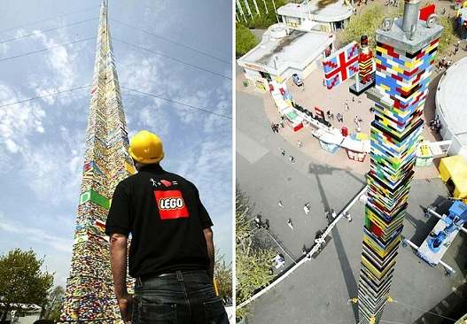 Ο μεγαλύτερος πύργος Lego top ten