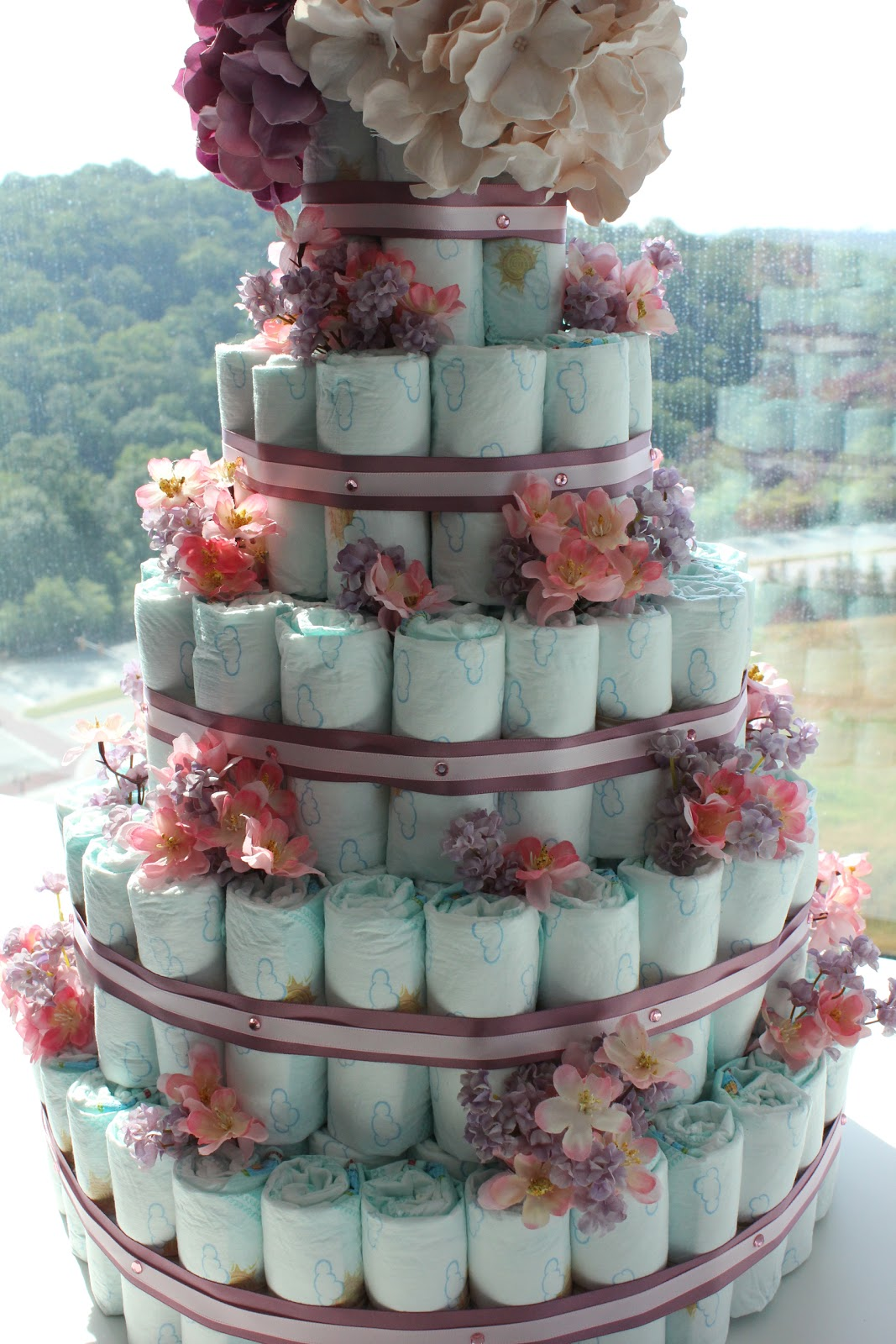 Savor Home My Latest Diaper Cake