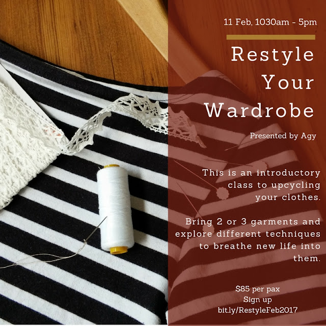 Upcycling workshop - Restyle Your Wardrobe
