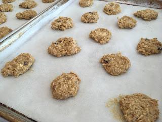 Pumpkin Granola Cookies