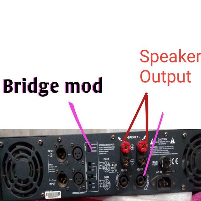 bridge mod,sterio mod,parallel mode,
