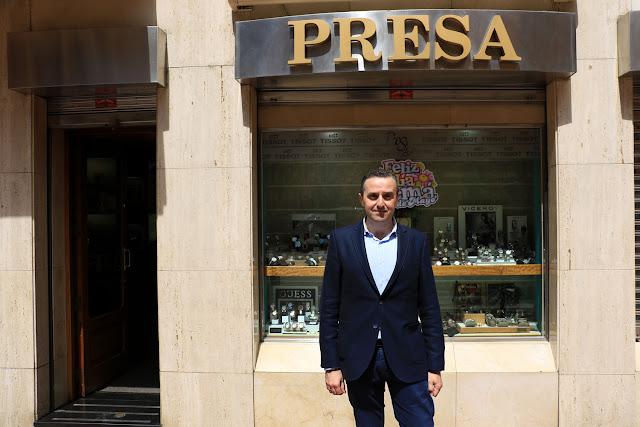 Javier Barrero Presa, de la Joyería Presa