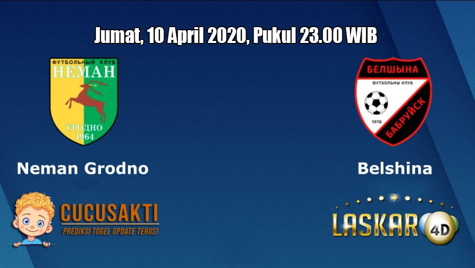 Prediksi Neman VS Belshina 10 April 2020