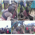 UNBELIEVABLE! This Mentally Challenged Couple Spotted in Public displaying Affection in Bayelsa state (See Photos)