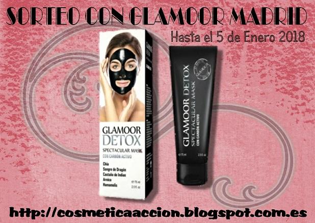 ¡SORTEO ? la mascarilla negra ?Glamoor Detox? de GLAMOOR MADRID!