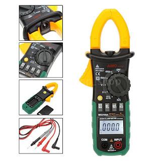 MS2108A Digital Clamp Meter Multimeter Voltmeter AC DC Current Volt Tester T5O4