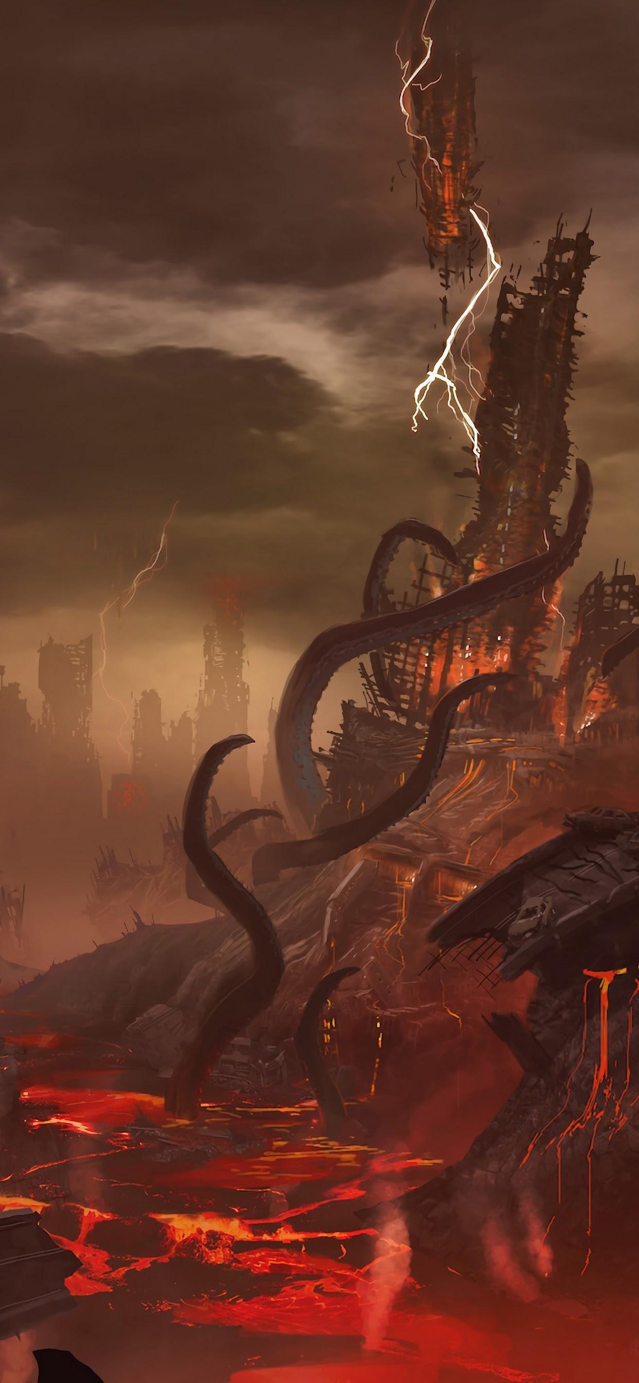 Doom Eternal Hell 4k Wallpaper 12