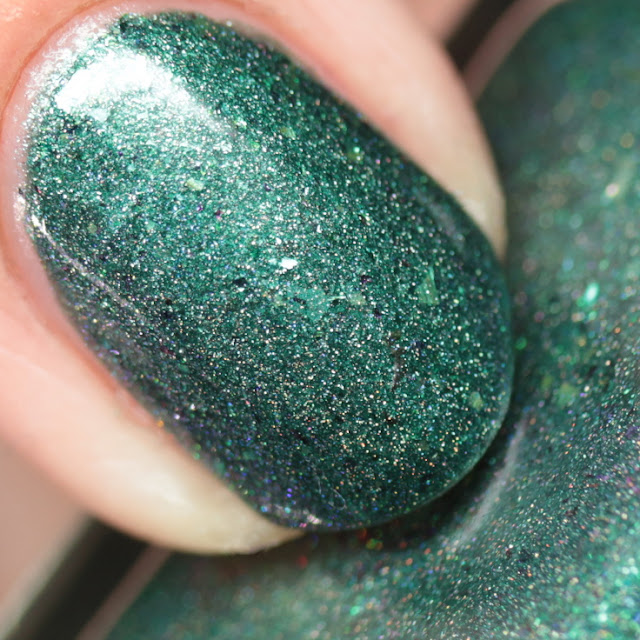 Blue-Eyed Girl Lacquer Green's Alexandrite with Me