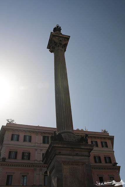 Colonna della Pace, Piazza de Santa Maria Maggiore, Roma, Itália