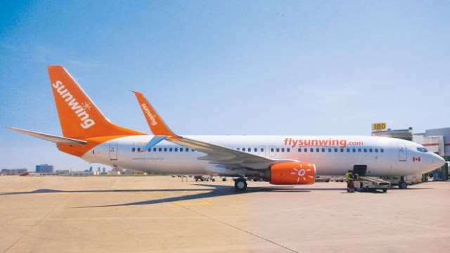 sunwing  julian bray aviation comment