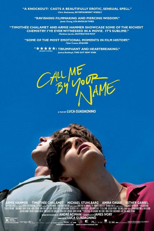 Llámame Por Tu Nombre - Call Me by Your Name - PELICULA - Italia - 2017