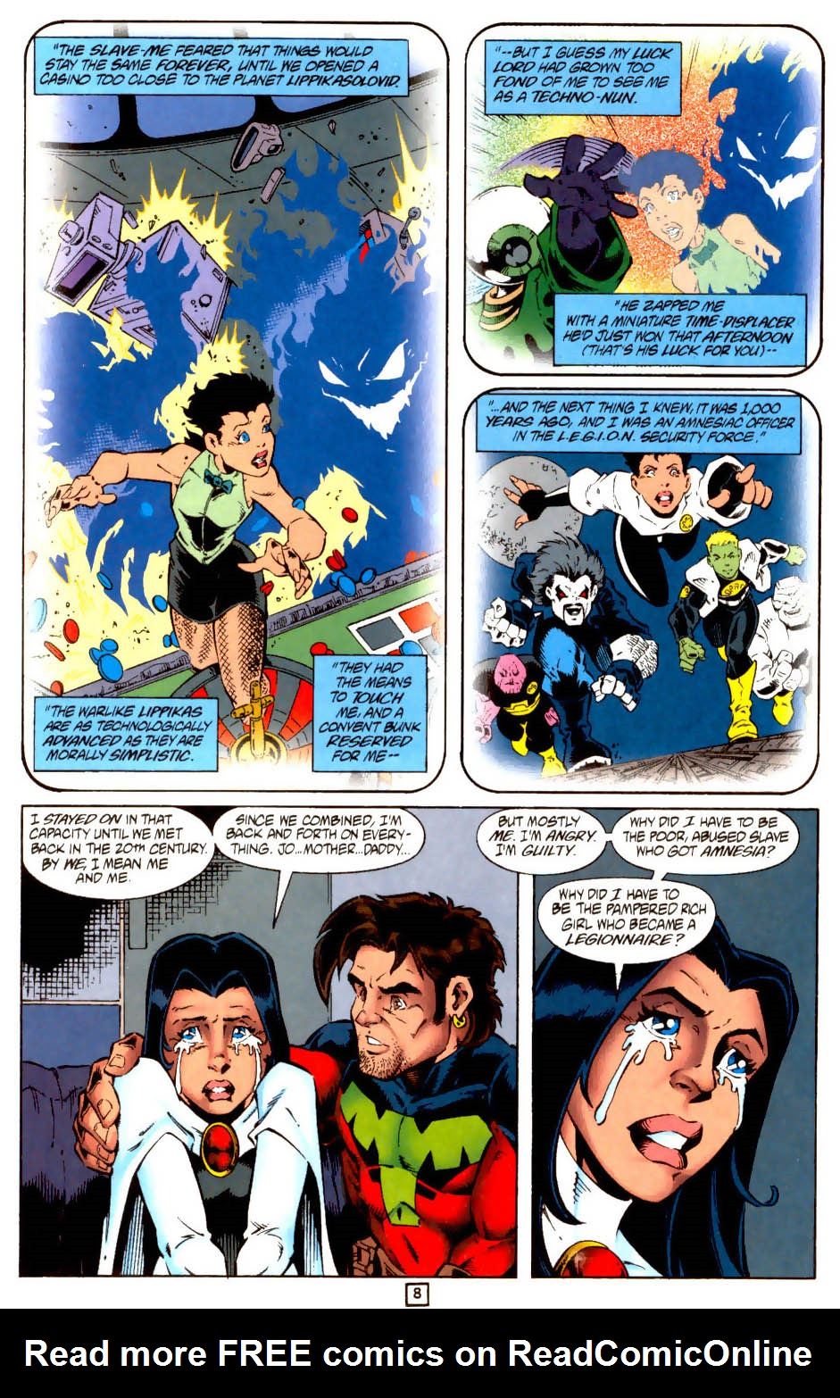 Legion of Super-Heroes (1989) 102 Page 20