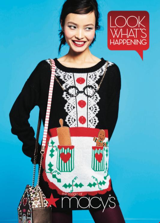 Cid Style File Macys Celebrates Ugly Sweater Day
