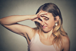 Here's how to get rid of body odor