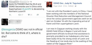 Sec. Taguiwalo slammed Critics who accused DSWD for doing nothing to help the victims of LawinPH