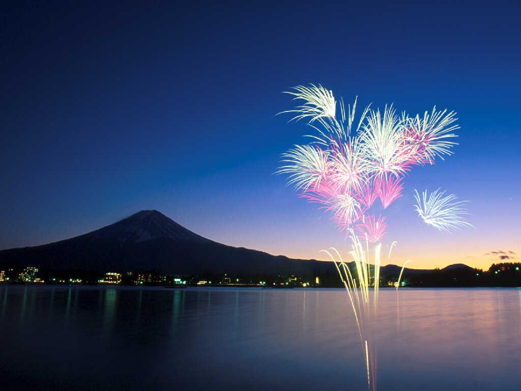 wallpaper Desktop: fireworks Wallpaper