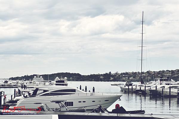 View of the Rose Bay marina, Sperry Odyssey Australia launch @ Regatta.