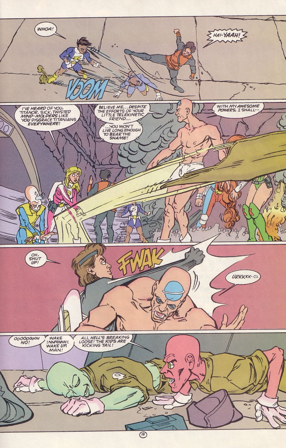 Legion of Super-Heroes (1989) 65 Page 18