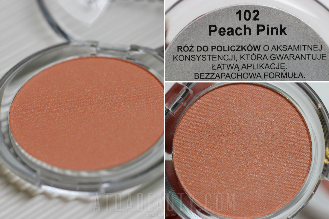 My Secret Blusher 102 Peach Pink