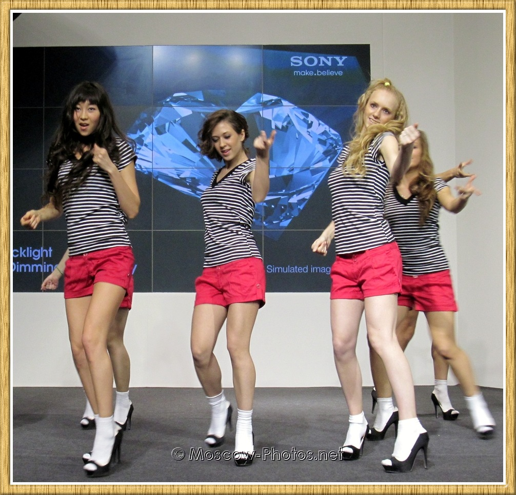 Dancing Girls In Red Shorts at Photoforum
