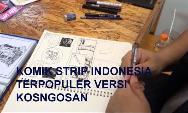 komik strip terbaik indonesia
