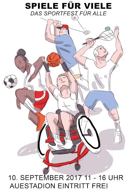 Rollstuhl, Basketball, Tennis