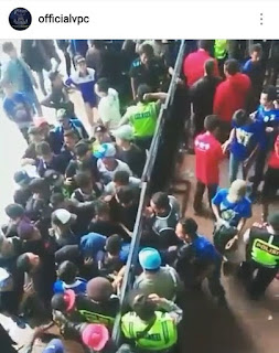 Polrestabes Bandung Usut Oknum Polisi Loloskan Penonton Tanpa Tiket di GBLA