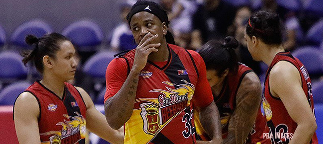 Disappointed AZ Reid REACTS to San Miguel Loss Against Blackwater (VIDEO)