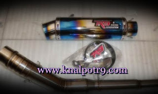 Harga Knalpot R9 Full System Ninja 250