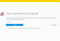 Cara Atasi Error Your Connection Is Not Secure di Mozilla Firefox