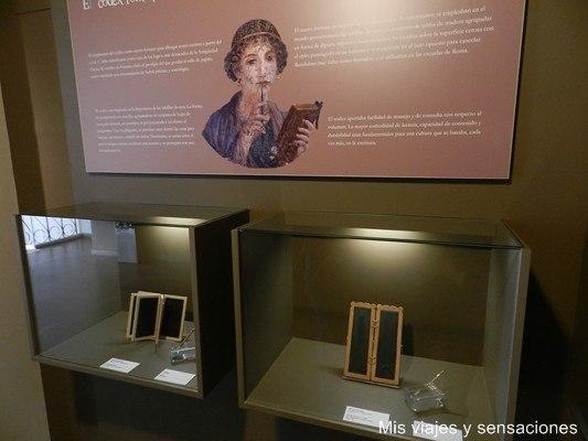 Codex romanos Museo del libro Fabrique de Basilea, Burgos