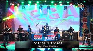 Lirik Lagu Yen Tego (Dan Artinya) - Via Vallen