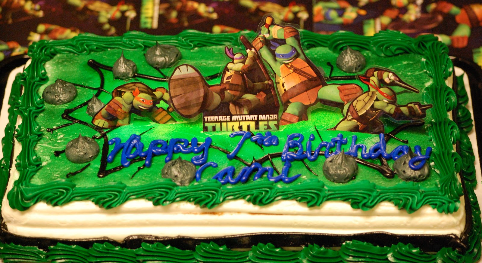 ninja turtle cake walmart mercedes weber my paper paradise more punch 6178